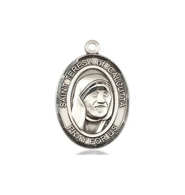 MEDAL MOTHER TERESA OF CALCUTTA STERLING SILVER