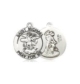 MEDAL MICHAEL/GUARDIAN ANGEL STERLING SILVER