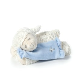 Plush Lamb Blue