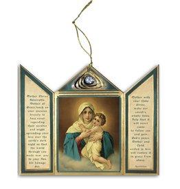 Ornament Madonna Wood