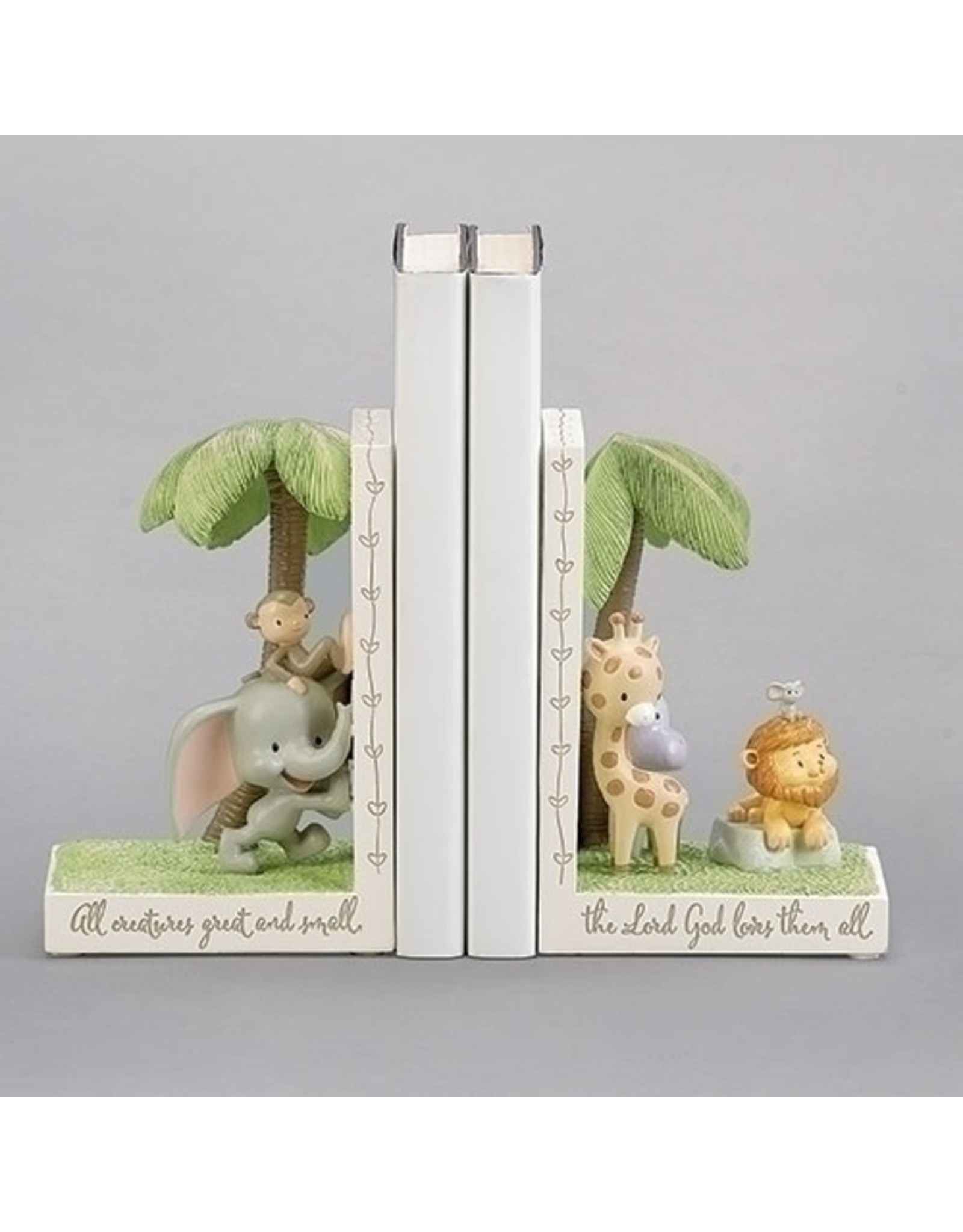 BOOKENDS ALL CREATURES 6.5