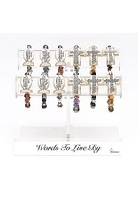 Words to Live By Scripture Bracelet