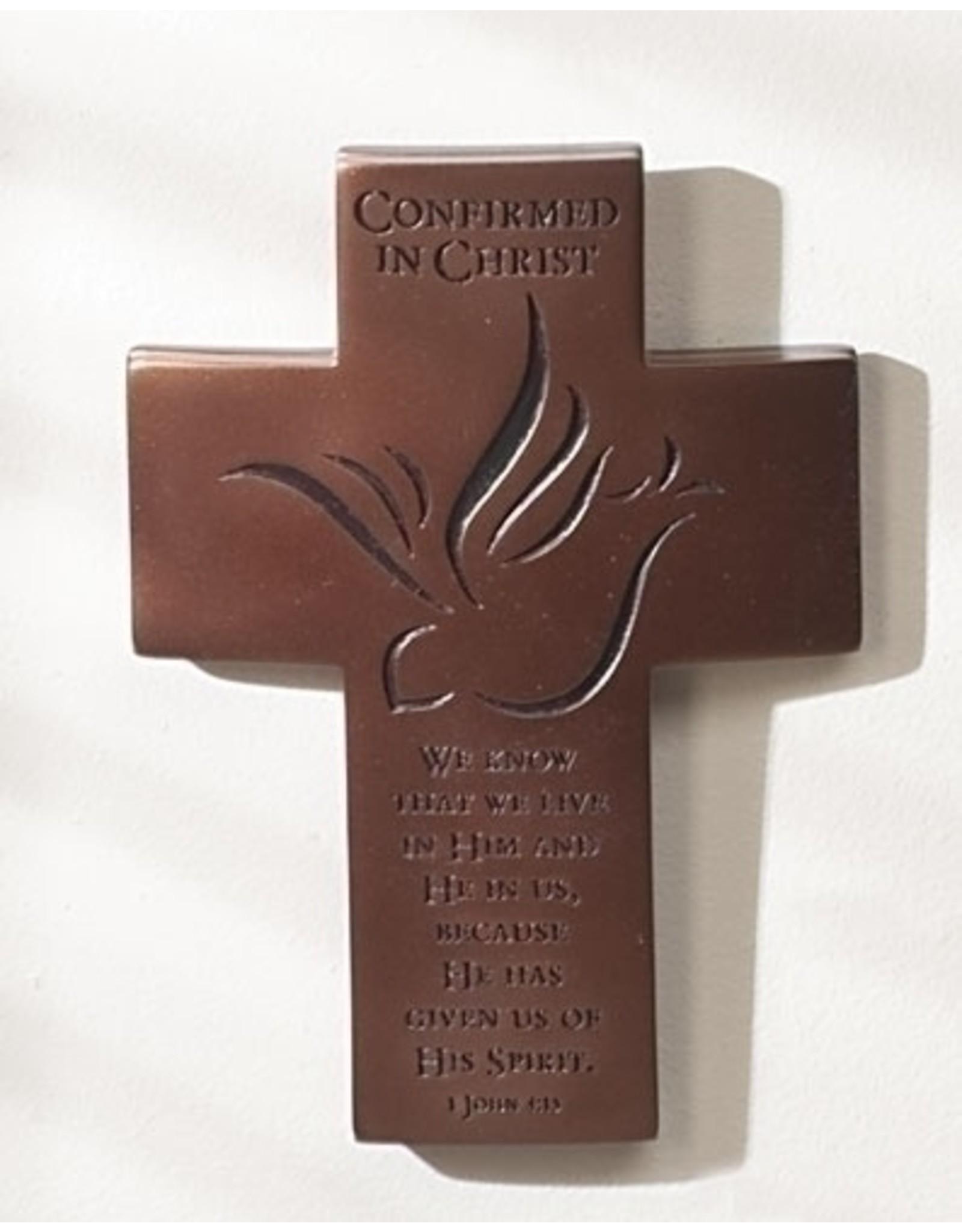 "Bronze Confirmation Cross, 7"""