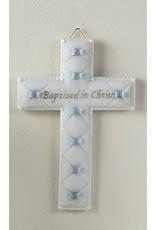 Baptism Cross - Blue