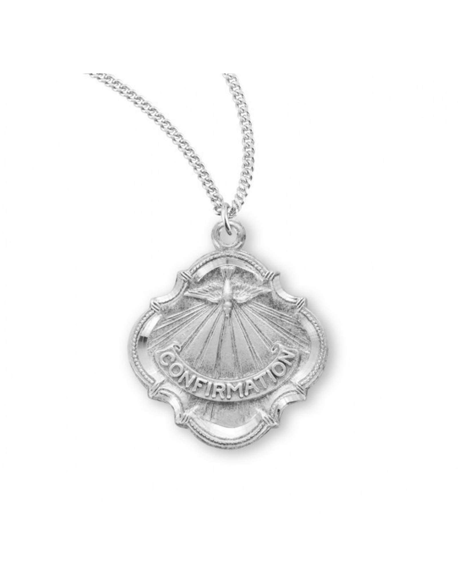 """Confirmation Medal -Holy Spirit (18"""" Chain)"""