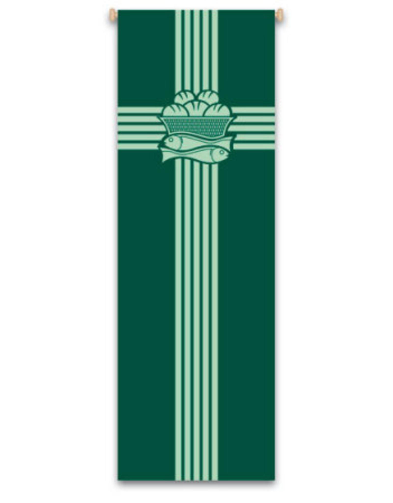Green Eucharist Banner