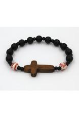 Bracelet Baseball/Cross