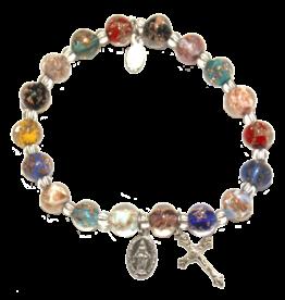 Bracelet Murano Glass Multi-Colored
