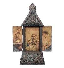 Triptych Holy Family Stone
