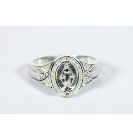 Ring Miraculous Sterling Silver Size 7