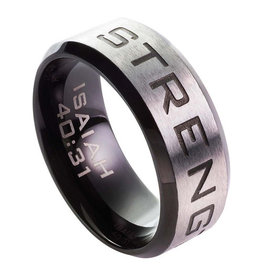 Ring-Strength-Isaiah 40:31-Size 11