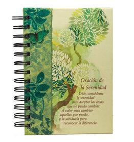 Diario de espiral doble, Oración de Serenidad-P/S