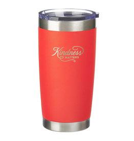 Kindness Matters Orange Stainless Steel Mug
