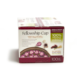 Fellowship Cup - Prefilled Communion Cups - Juice & Wafer (100)
