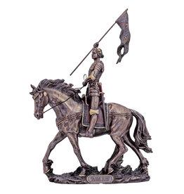 Statue Joan of Arc 10X11 Bronze