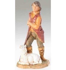 "Fontanini Paul, Shepherd with Sheep 5"""