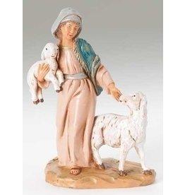 "Fontanini Rhoda, Shepherdess 5"""
