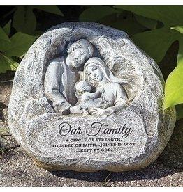 Holy Family Garden Stone
