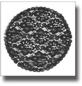 Mantilla (Veil) - Black Lace Prayer Cap