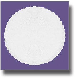 Mantilla (Veil) - White Lace Prayer Cap