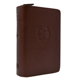 Liturgy of the Hours Leather Zipper Case (Vol. III) (Brown)