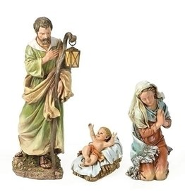"Holy Family 3pc Statue Set, 27"" Scale"