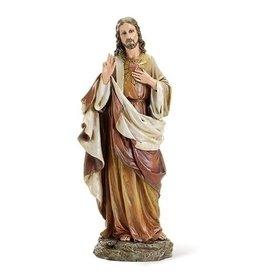 "Sacred Heart of Jesus Statue (Renaissance Collection), 10.25"""
