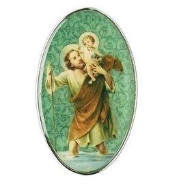 St. Christopher Visor Clip