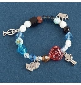 First Communion Bracelet - Apostle's Creed (Multi-Color)
