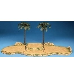 Fontanini Kings Oasis with Palm Trees (5pc)