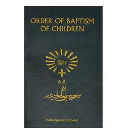 Order of Baptism of Children (Participation Booklet)