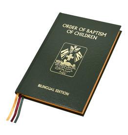 Order of Baptism of Children (Bilingual Edition)