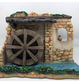 Fontanini Rotating Watermill Wheel