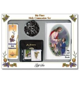 First Communion Set Boy Traditional Style