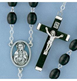 Rosary Wood Black
