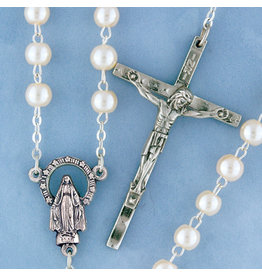 Rosary Pearl/Silver