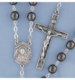 Rosary Hematite (Imitation)