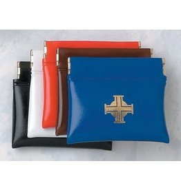 Rosary Case Vinyl Squeeze-Available in Black, White, Red, Brown & Blue