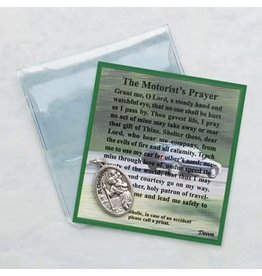 Motorist's Prayer Card/St. Christopher Medal
