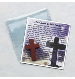 Cross in My Pocket Token & Prayer Card