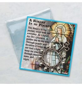 Rosary Ring with Prayer Card