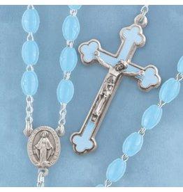 Rosary Luminous-Blue, Pink, Yellow, or Luminous