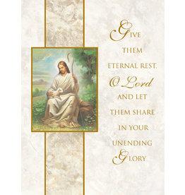 Mass Cards-Deceased Eternal Rest (100)