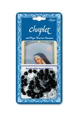 Chaplet 7 Sorrows Black Wood