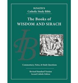 RSV Ignatius Catholic Study Bible-Wisdom & Sirach