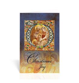 Holy Family-Christmas Joy Greeting Card