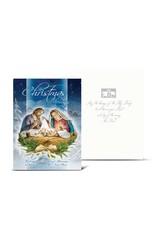 Christmas Nativity Scene (Holy Family) Card