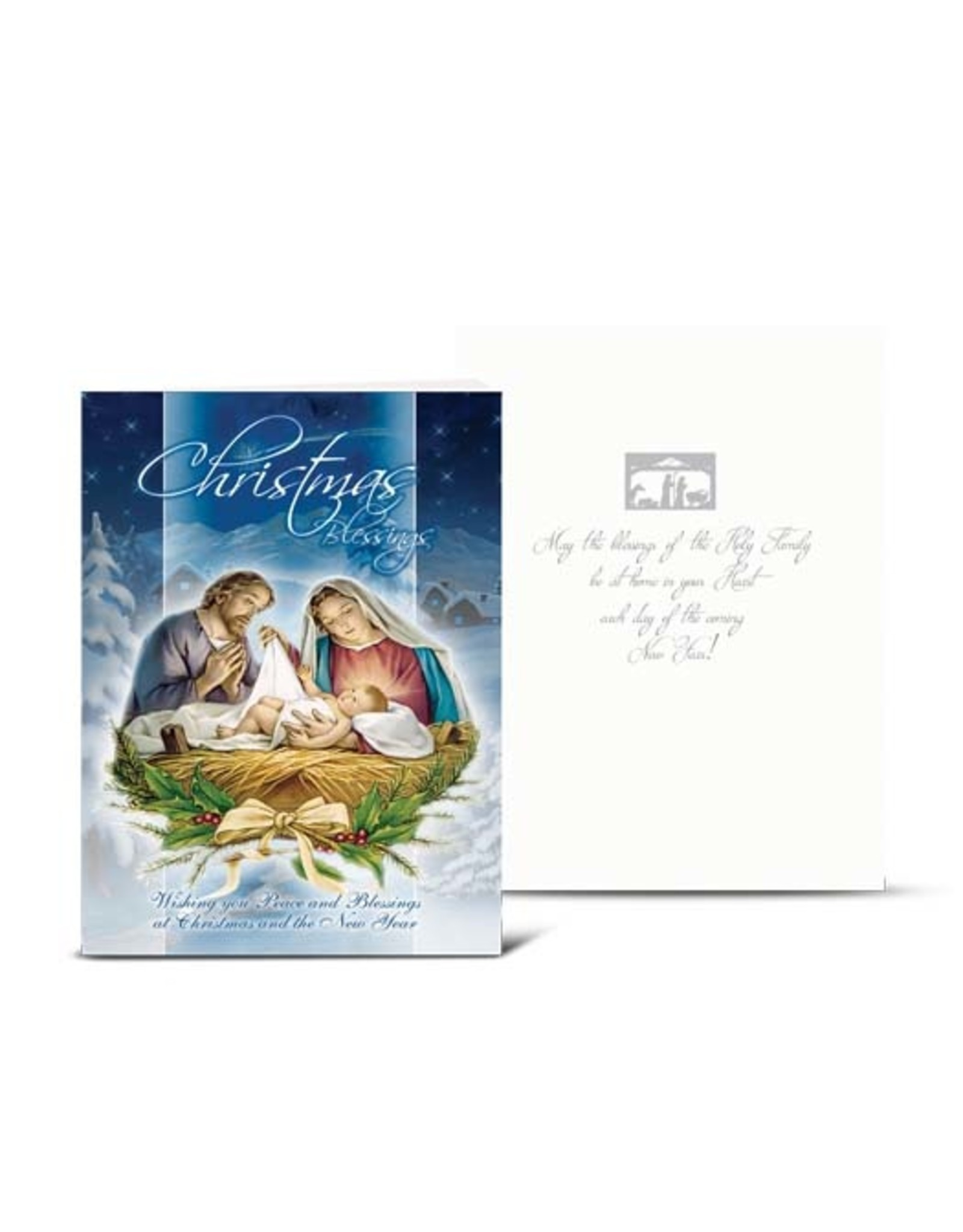 Christmas Nativity Scene (Holy Family) Card