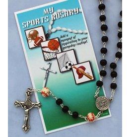 Sports Rosary - Baseball, Basketball, Football or Soccer