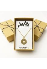 Bible Verse Necklace - Lead Me